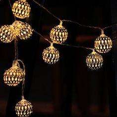 Dealbeta Guirlandes Lumineuses Extérieur Guirlande Lumineuse  Piles
