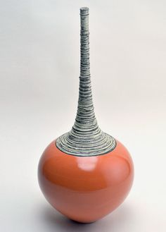 """""""Shipka"""" ceramic vase Boyan Moskov was born in Ruse, Bulgaria and was drawn to art from an early age. Starting at Troyan Art School (Troyan, Bulgaria) in 1987. Tries to create colorful and creative works that you can live with everyday - old color balanced with grounded design"""
