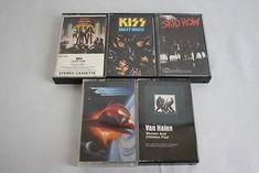 Kiss ZZ Top Van Halen Skid Row Cassette Lot 5