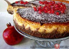 Kokosovo-čokoládový cheesecake