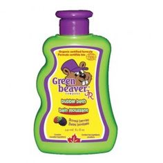 Green Beaver Junior Bubble Bath for Toddlers and Kids
