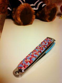 nail-scissors deco.デコ Nail Scissors, Swiss Army Knife, Deco, Nails, Swiss Army Pocket Knife, Finger Nails, Ongles, Deko, Decorating