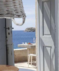 En bord de mer en Gréce - Prenons le temps