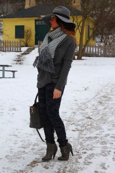 """♥ this look on whatiwear.com by ALEKSANDRA PANIC """"SHADES OF GRAY"""" http://www.whatiwear.com/look/detail/169387"""