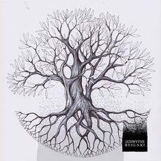New life tree drawing imagination ideas Pine Tattoo, Tattoo Tree, Mandala, Willow Tree Statues, Natur Tattoo Arm, Nature Tattoos, Crow Tattoos, Phoenix Tattoos, Ear Tattoos