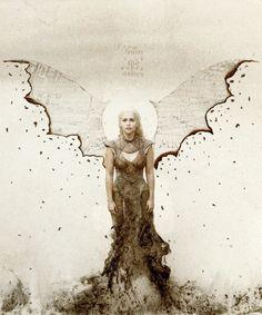 Fan Art of Daenerys Targaryen