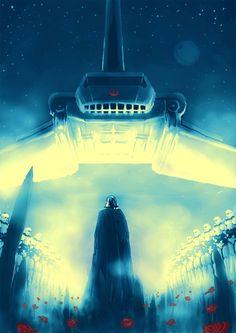 The Emperor arrives. Star Wars Concept Art, Star Wars Art, Star Trek, Amidala Star Wars, Star Wars Pictures, Darth Vader, Dark Lord, Love Stars, Star Wars Episodes
