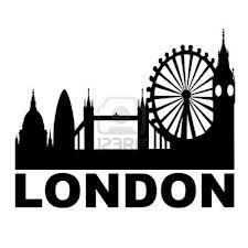 london city skyline silhouette - Google Search