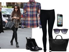 """""""Selena Gomez Style"""" by chilluci on Polyvore"""