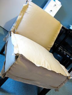 How to slipcover a slipper chair