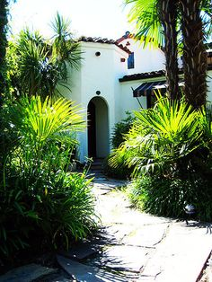 Melissa and Stephen's Preserved Spanish Revival — Green Tour from the Archives Spanish Revival Home, Spanish Style Homes, Spanish House, Spanish Colonial, Spanish Design, Spanish Exterior, Spanish Haciendas, Spanish Garden, Mediterranean Style Homes