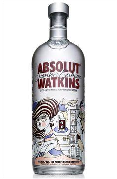 Absolut Watkins vodka