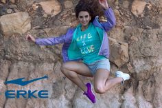 Style, fashion fitness and sports. Whatever your active wear needs, Erke has something for everyone!   Visit ERKE on Facebook https://www.facebook.com/ERKESA/?fref=ts