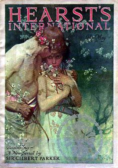 Hearst's International cover by Alphonse Mucha, May 1922