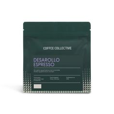 The dream that drives The Coffee Collective is to explore exceptional coffee experiences in a manner that gives better living conditions to coffee farmers. Tea Packaging, Packaging Design, Coffee Pack, Bag Mockup, Tea Brands, Conditioner, Packing, Branding, Collection