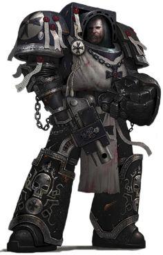 Space Marine - Warhammer 40k - Adeptus Astartes - Black Templars - Terminator
