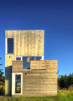 Kutcher House | MacKay-Lyons Sweetapple Architects | to exterior ...