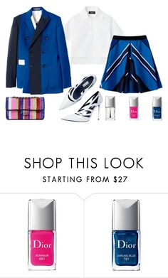 """""""don't take it so seriously"""" by cami08 ❤ liked on Polyvore featuring Sportmax, Chanel and Christian Dior"""
