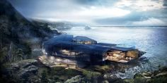 Making of Cliff House - 3D Architectural Visualization & Rendering Blog