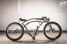 Спасибо Ивану Земляному и Bicycle Trust за эту бомбу! За самобытность, фантазию и упорство. Горжусь отечественными кастомайзерами.