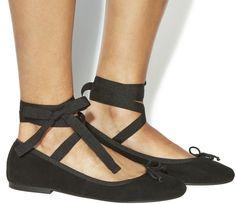 Office Daphne Ankle Tie Ballet