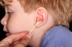 All you ever wanted to know about ear wax. WARNING: Do NOT use q-tips in the ear!!
