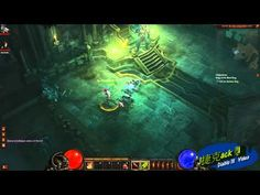 《 Diablo III 》Witch_Doctor & Demon_Hunter of Level 1 killed the Skeleton King