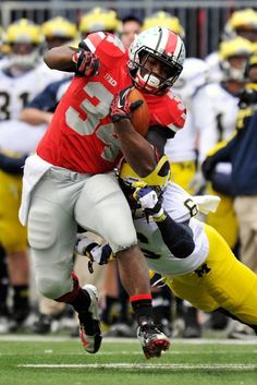 The Game, 2012: Run Carlos run! Way to beat That Team Up North, go BUCKS!!!