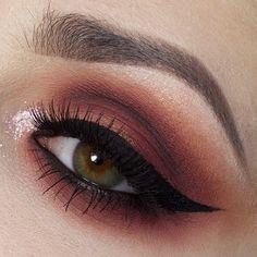 @giuliannaa wearing Love Sick, Dark Matter, Blurr, Unseen and Amelie on her eyes ❤️ #meltcosmetics #meltlovesick #meltdarkmatter