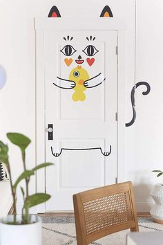 Urban Outfitters Miss Kat Wall Decal