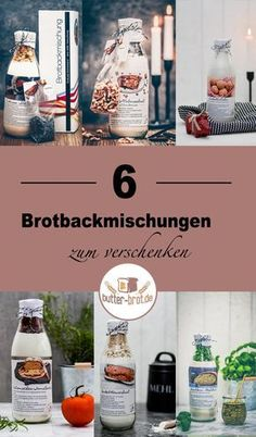 6 special bread baking mixes to give away - butter-brot.de 6 homemade bread mixes to give away – bread mix in a glass Diy Bags Patterns, Diy 2019, Diy Crafts To Do, Bread Mix, Christmas On A Budget, Vegetable Drinks, Healthy Eating Tips, Jar Gifts, Summer Diy
