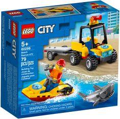 Lego City, Jet Ski, City Beach, Beach Fun, Lego Beach, Lego Age, Van Lego, Free Lego, Roll Cage