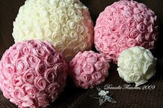 "The Fun Cheap or Free Queen: ""You're Welcome"" Wednesday DIY project: Tissue pomander balls"