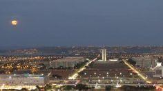 Brasilia vue panoramique de la tour de la tv 48