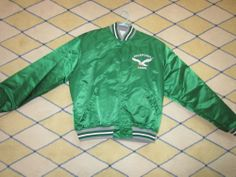 Philadelphia Eagles Satin Starter Jacket XL Vintage