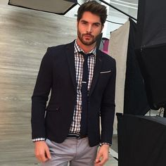 "Nick Bateman on Instagram: ""Suited up in Montreal for @LeChateau ?"" ❤ liked on Polyvore featuring nick bateman"
