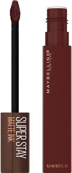 275 MOCHA INVENTOR Maybelline Matte Ink, Liquid Lipstick, Mocha, Eyeliner, Beauty, Beleza, Eye Liner, Moka, Cosmetology