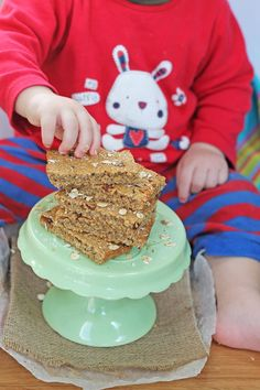 Sugar Free Flapjacks Oat Bars for Baby Led Weaning   My Fussy Eater Blog