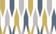 Arrows  (LF1027) - Layla Faye Wallpapers - An all over design if interlocking arrows, creating a contemporary stripe effect when hung. Shown here in the khaki grey colourway. Other colourways are available. Please request a sample for a true colour match. Paste-the-wall product.