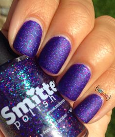 My Nail Polish Obsession: Smitten Polish Out of the Darkness