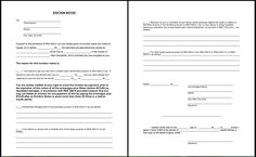 Printable Blank Eviction Notice Form - http://resumesdesign.com/printable-blank-eviction-notice-form/