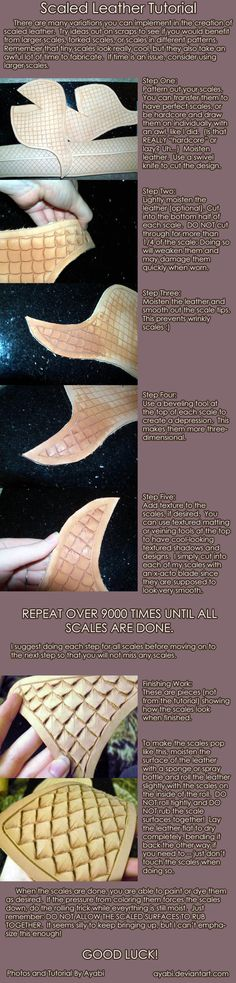 Leather Scales tutorial