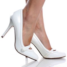 white dress shoes for women | Jen   Kim Swan Women's Dress Shoes ...