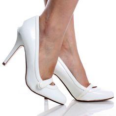 white dress shoes for women | Jen   Kim Swan Women's Dress Shoes ...