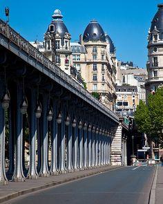 Vaugirard district, Bir-Hakeim Bridge, Paris XV. Janet Jackson made a video under this bridge in 1990.