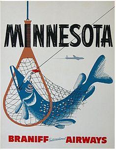 Minnesota - Braniff Airways