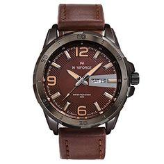 lesmartzyn (TM) marca de lujo vestido de los hombres reloj de cuarzo correa de cuero resistente al agua 3ATM Hombre Casual reloj deportivo reloj de pulsera Relojes Hombre