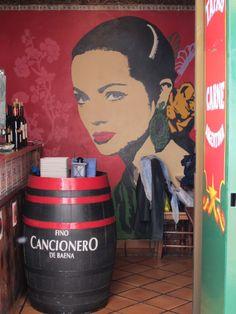 Entrance to a tapas bar, Sevilla