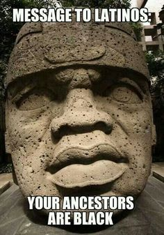 Olmecs - African America (In Mexico & throughout the caribbean). Be proud of your heritage.