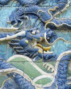 Dragoni de jad/Scluptura in relief/China.